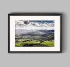 Hope Valley and Castleton, a Peak District Landscape Photograph