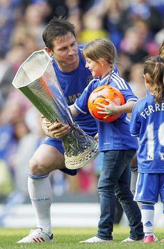 Frank Lampard. Chelsea FC's 2013 Lap of Honour