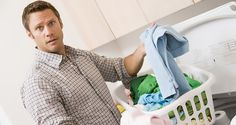 5 Laundry Tips for Men - by John Clark | I have noticed a plethora of domestically-relevant articles (such as household tips) lately on this site, and have observed that they are usually written by women. But women shouldn't have a monopoly on ideas, so I thought it was time to put a man's perspective on things.