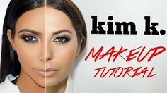 Kim Kardashian Makeup Tutorial - make_up_pintennium Kim Kardashian, Kim K Makeup, Eye Makeup, Makeup Style, Glam Makeup, Beauty Makeup, Makeup Tutorials Youtube, Hair Tutorials, Holiday Makeup