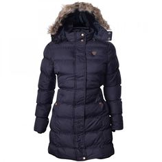 Shop Blivener Women Warm Winter Cotton Fleece Lined Parka Faux Fur Hooded Jacket Coat Army Green UK Free delivery and returns on eligible orders. Parka Coat, Winter Jackets Women, Coats For Women, Faux Fur Hooded Jacket, Brave, Womens Clothing Stores, Padded Jacket, Unique Outfits, Cowls