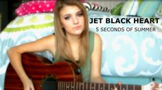 Jet Black Heart - 5 Seconds of Summer (Acoustic Cover) || Cover by Lauren Bonnell GO CHECK IT OUT :-)