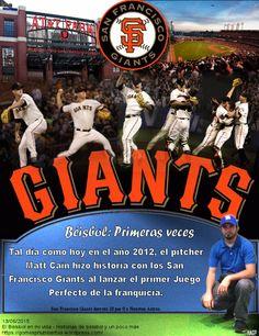 San Francisco Giants, Perfect Game, Matt Cain, MLB