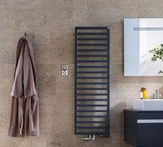 Badezimmer Moderne Wandheizung von Zehnder * Ideen für dein Badezimmer * Heizkörper in schwarz