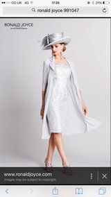 Ronald Joyce Mother of Bride outfit Size 12 - 2