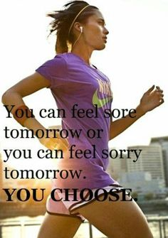 Nothing cures soreness like another run.