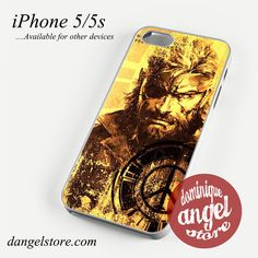 Metal Gear Solid Peace Walker Phone case for iPhone 4/4s/5/5c/5s/6/6 plus Only $10.99