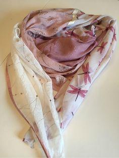 Grand foulard carré - Tuto