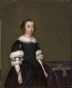 ab. 1670 Gerard ter Borch - Portrait of a Woman