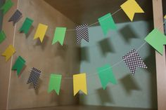 John Deere Party Decoration Paper Garland by SimplyScissors, $10.00