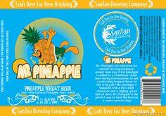 SanTan Brewing–Mr. Pineapple Wheat Beer