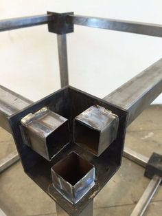 Digital Fabrication, Metal Fabrication, Metal Projects, Welding Projects, Metal Band Saw, Metal Bending, Steel Frame Construction, Metal Working Tools, Container House Design