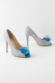 Cyclamen Heels - Anthropologie.com