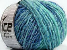 Fiber Content 50% Acrylic 50% Wool Brand ICE Blue Shades fnt2-40493