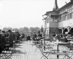Ravintola Klippan - Restaurang Klippan ca 1906, Foto Frans Nyberg