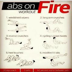Crunchless Abs Routine  Crunch Free Abs Workout - Just TEN minutes, no excuses!