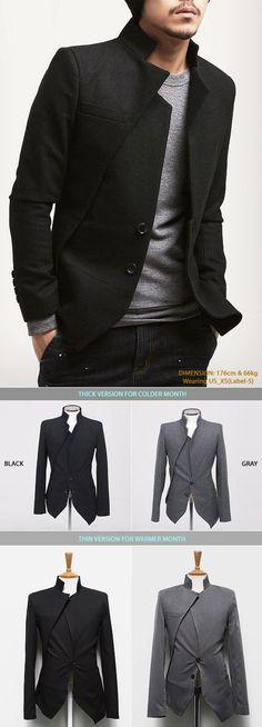 Thick Version Edge F/W Wool Jacket