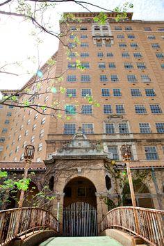 Baker Hotel, Mineral Wells, Texas.  Hometown..kinda miss sometimes