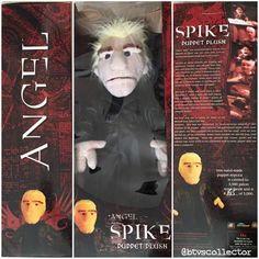 "Diamond Select Toys - Angel ""Smile Time"" Spike Puppet Prop Replica. 1615/5000. #btvscollector #btvs #buffy #buffythevampireslayer #spike #spuffy"