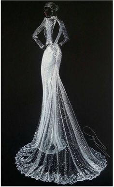 MUSE by Berta @bertabridal @gipvision  Be Inspirational ❥ Mz. Manerz: Being well dressed is a beautiful form of confidence, happiness & politeness
