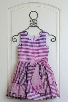 This Zoe LTD Purple Ombre Stripe Dress is the perfect choice for your tween girl. It comes stripped in both the top and bottom of the dress. Girls Special Occasion Dresses, Purple Ombre, Tween Girls, Striped Dress, Two Piece Skirt Set, Tank Tops, Women, Fashion, Moda