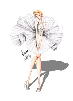 Marilyn Monroe - The 7 year itch by frozen-winter-prince.deviantart.com on @deviantART