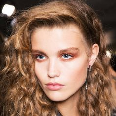 A model for Topshop during London Fashion Week