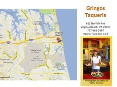 The best fish tacos in Norfolk and Virginia Beach at Gringo's Taqueria. It's a hole in the wall, but delicious!