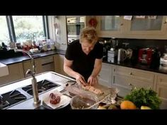 Christmas With Gordon Ramsay Part 1~Published on Dec 23,2012.Gordon prepares his perfect stuffing, Turkey and homemade gravy,cranberry and apple sauce,and delectable mint truffles,aided by the skilful hands of son Jack and daughter Megan.