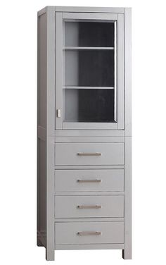 Maddox Linen Cabinet - also in white or black. $559