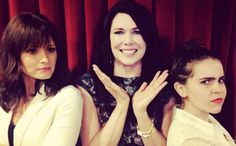 Remember that time Lauren Graham's television daughters, Alexis Bledel and Mae Whitman, met and you thought your heart was going to explode?Well, prepare yourself, because there's more where that came from.