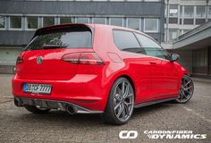 VW Golf 7 GTI Race Spec and R400 style by Boca Design