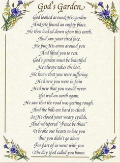 This poem was said at my grandads service