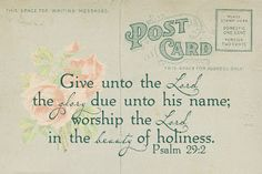 Psalm 29:2 Papercraft Memories: Free Printables