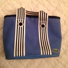 Blue mini lacoste bag Mini structured canvas lacostse bag Lacoste Bags Mini Bags