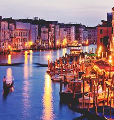 Venice, Italy.... Been once, can't wait to go back!