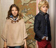Massimo Dutti niños. Moda infantil otoño invierno 2013-14.