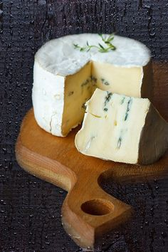 Blue brie cheese... Delicious for stuffing medjool dates, add a pecan while you're at it :-)...