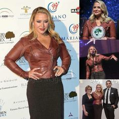 NEWS: On November 28, Anastacia attended 'The Children For Peace Gala' at Spazio Novecento in Rome, Italy. More at www.anastaciafanclub.com.pt