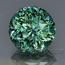 Montana Sapphire round green