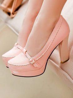 Cute rose women shoes   www.ScarlettAvery.com