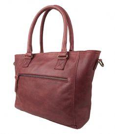 Bag Bangor burgundy Cowboysbag | The Little Green Bag