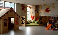 Love the playroom inside the expanded Ronald McDonald House in Wellington, New Zealand.