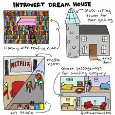As an introvert I've dreamed of this forever