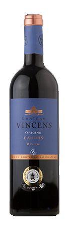 Château Vincens, Origine, Rouge 75cl Boutique en ligne Vin Cahors Wine Shop Cahors
