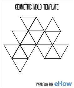 Geometryczny szablon formy