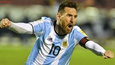 Mais Eliminatórias   Messi faz três, Argentina bate Equador e vai à Copa