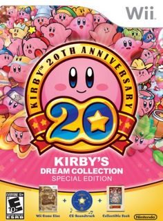 Kirby's Dream Collection is a video game collection for Wii, celebrating the 20th anniversary of the first appearance of Kirby, Nintendo's iconic, amorphous pink platforming hero. The collection consi