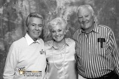 James Darren, Lee Meriwether and Robert Colbert, The Time Tunnel reunion, 2011.