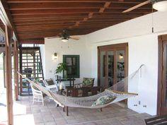 hacienda style home florida
